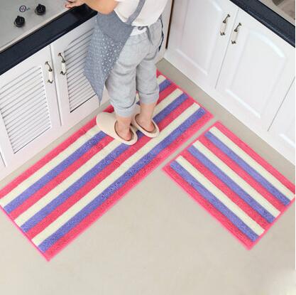 2 Teile/satz Staubdicht Küche Matte Weichen Fußmatte Absorbieren Wasser Badezimmer  Teppich Lange Küche Teppich