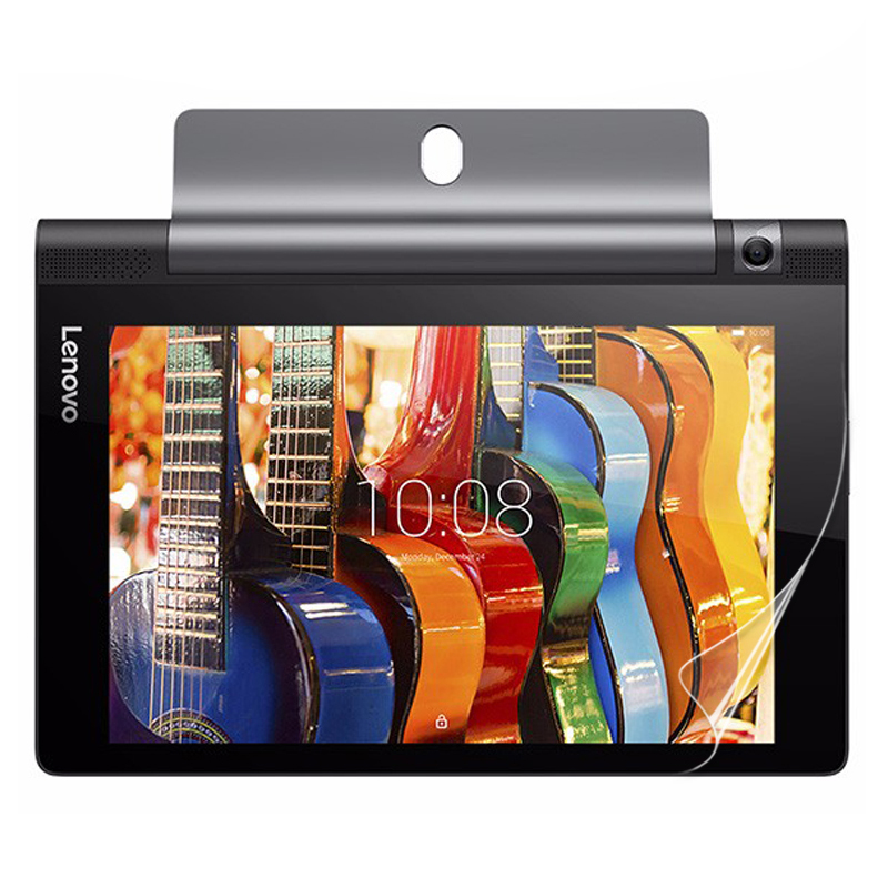 Galleria fotografica 2Pcs Clear Glossy Screen Protector Protective Film for Lenovo Yoga Tab 3 10 X50L X50F 10.1
