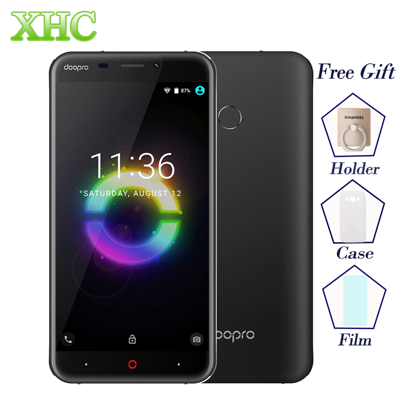 5,5 zoll DOOPRO P2 Pro 4G Smartphones 5200 mAh Android 6.0 MSM8909 Quad Core RAM 2 GB ROM 16 GB Fingerprint ID Dual SIM Handy