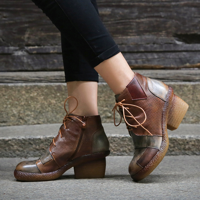 5855a31bc Patch-Lace-Up-Mixed-Colors-Women -Boots-Shoes-Original-Leather-Italy-Lady-Ankle-Booties-Zipper-Female.jpg 640x640.jpg