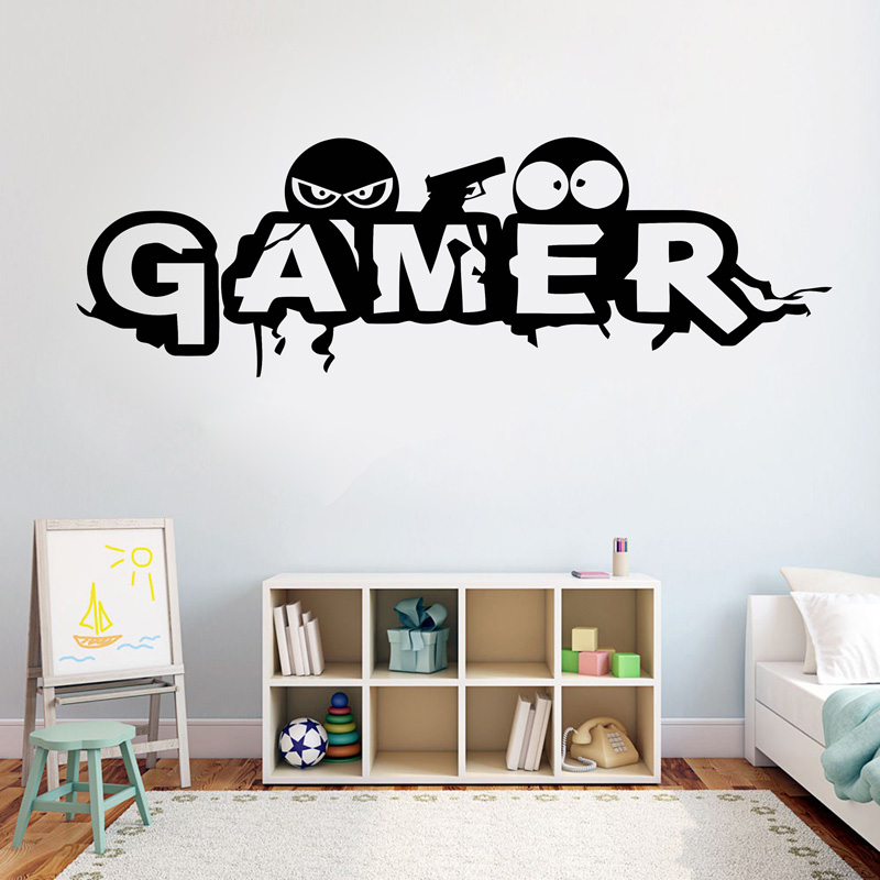 PS4 STYLE EAT SLEEP PLAY  vinyl wall sticker decal children bedroom game..