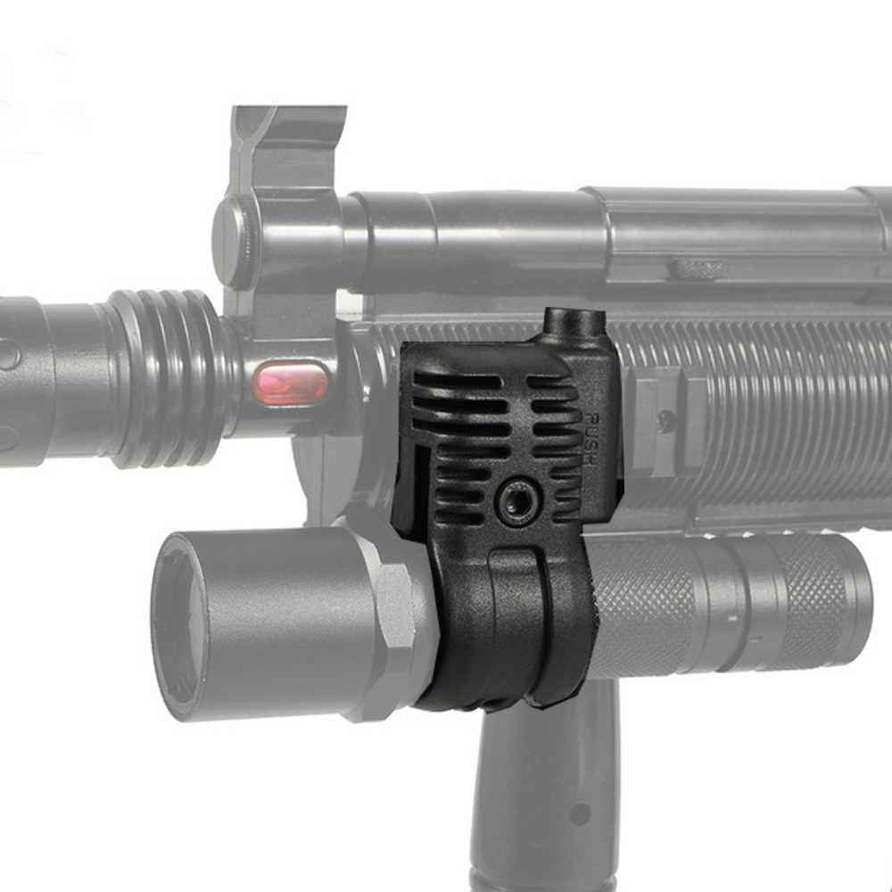 Element EX407 QR 25.4mm Scope Flashlight Ring Mount 20mm RIS Rail Hunting Tactical Scope Accessories Two Colors For Choose