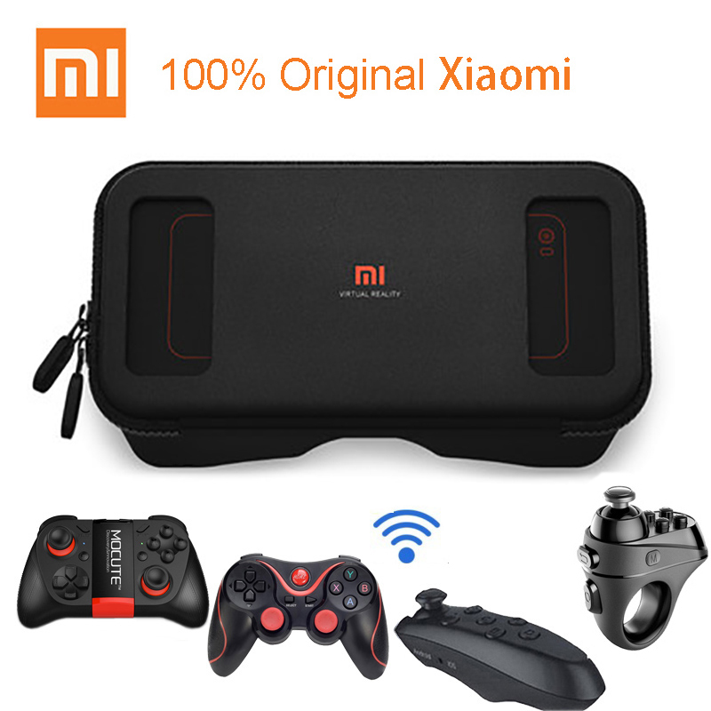 Original Xiaomi Mi VR Play Virtual Reality Glasses 3D Glasses Immersive For 4.7-5.7 Inch 1080P With Controller For Android phoneOriginal Xiaomi Mi VR Play Virtual Reality Glasses 3D Glasses Immersive For 4.7-5.7 Inch 1080P With Controller For Android phone