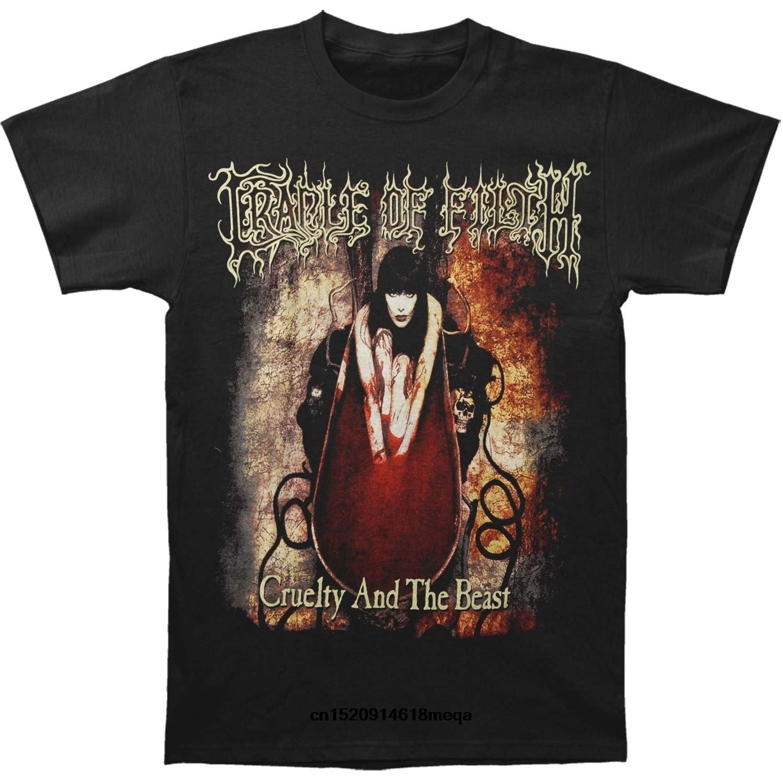 Bescheiden 2019 Lustige T Shirts Cradle Of Filth Cruelty Und Das Biest Herrenmode T-shirt ZuverläSsige Leistung