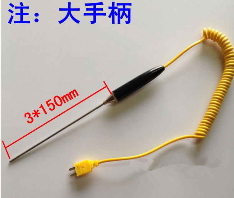 Free Ship Rod Type Probe 150mm TES-1310 DT-902C Thermometer Sensor k-type Thermocouple/Thermometer sonde Custom Sensor ProbeFree Ship Rod Type Probe 150mm TES-1310 DT-902C Thermometer Sensor k-type Thermocouple/Thermometer sonde Custom Sensor Probe