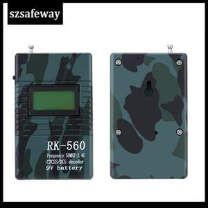 Image 3 - Szsafeway RK560 50Mhz 2.4Ghz Draagbare Handheld Frequentie Counter Dcs Ctcss Radio Frequentie Meter Teller