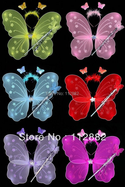 Party supplies Angel wings.Butterfly wings,children and adult,cosplay,(fairy wing,Party accessories,Children's gifts