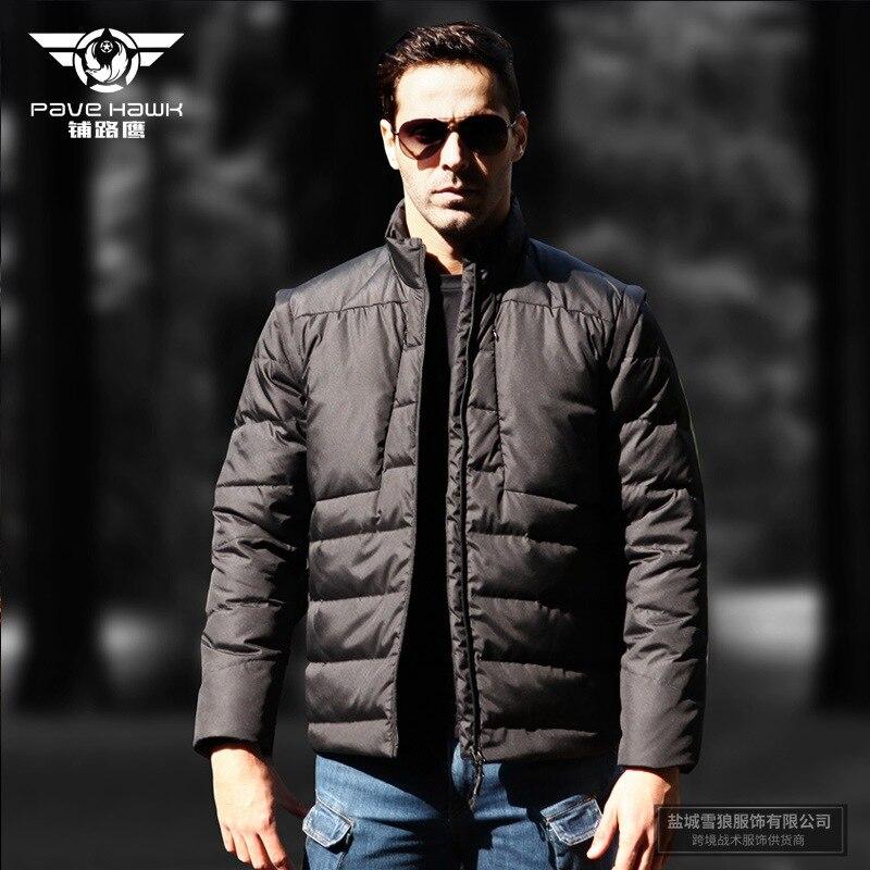 White Duck Down Coat Muži Sportovní oblek Vest Ultralight Outdoor - Sportovní oblečení a doplňky