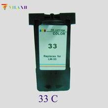 Cartridge 33 for Lexmark 33 Ink Cartridge For Lexmark X7350 X5450 X5210 X5470 X7170 Z810 Z812 Z815 Z816 Z818 P915 printer for lexmark 33 ink cartridge for lexmark p315 p4330 p4350 p450 x5410 x5450 x5470 x7300 x7350 x8310 x8350 z810