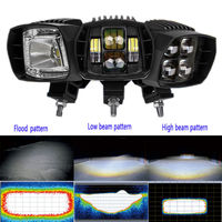Led Work Driving Light Flood High Low Light To Enhance Driving Safety Easy Install Adjustable Degree