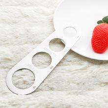 Легкая очистка паста линейка, измерительный инструмент 4 порции из Нержавеющей Стали Измеритель для спагетти принадлежности для приготовления пищи инструменты управления