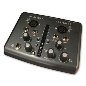 Image 3 - Boutique Original M audio m track usb audio interface sound card external 2 in 2 out professional for recording free shipping