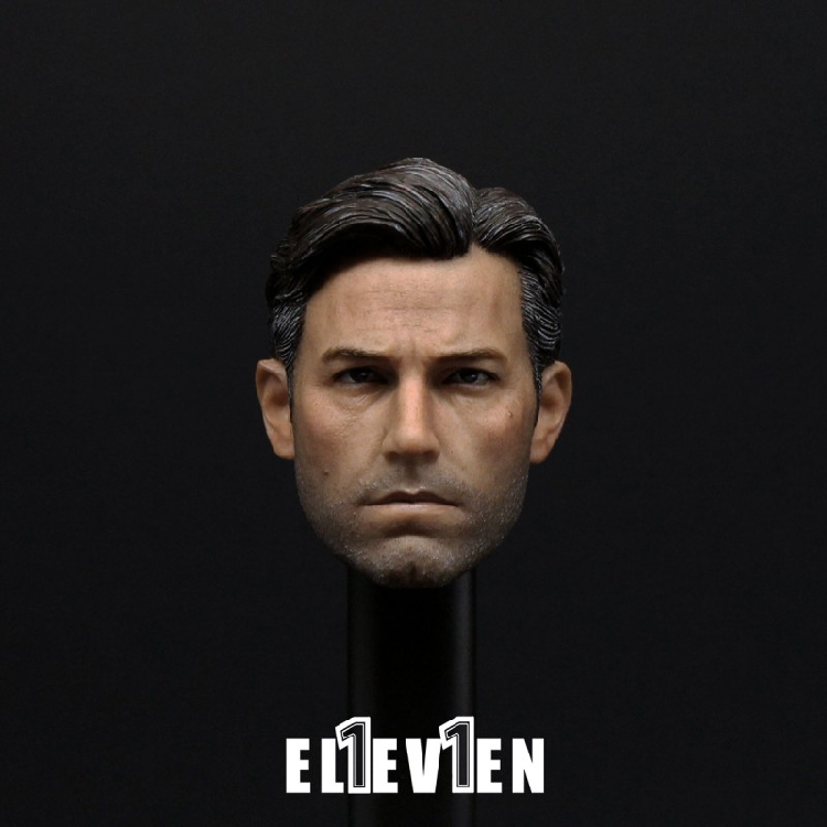 1/6 Soldiers Head of Batman Ben Affleck Head Sculpture Figure Model