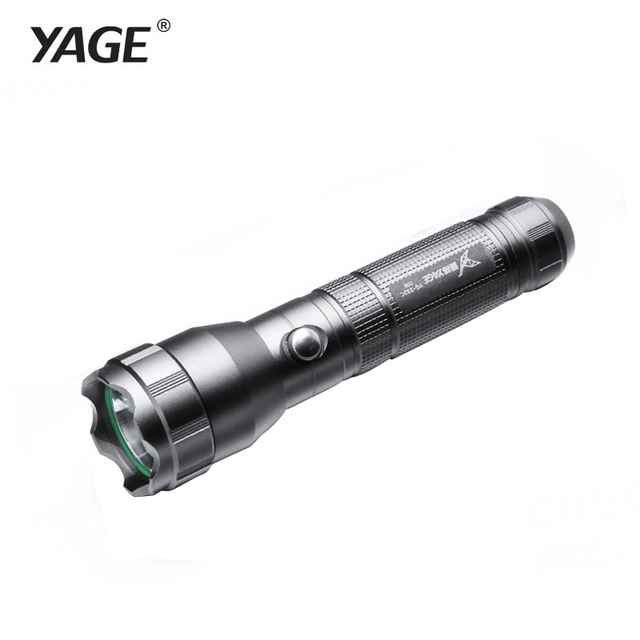 YAGE 332C light torch led tactical flashlight three modes CREE led rechargeable 200-500M self defence flashlight for 18650