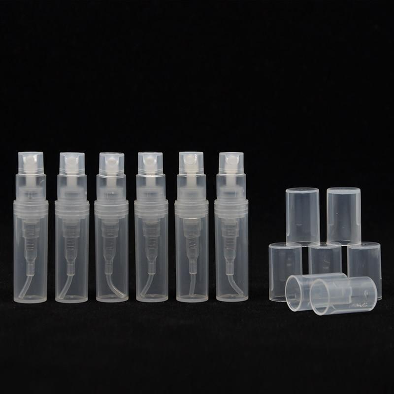 YS-2ml 3ml 4ml 5ml Wholesale (500pcs/lot)  Plastic Refillable Bottle Dull Polish Translucence Sample Spray Perfume Bottle