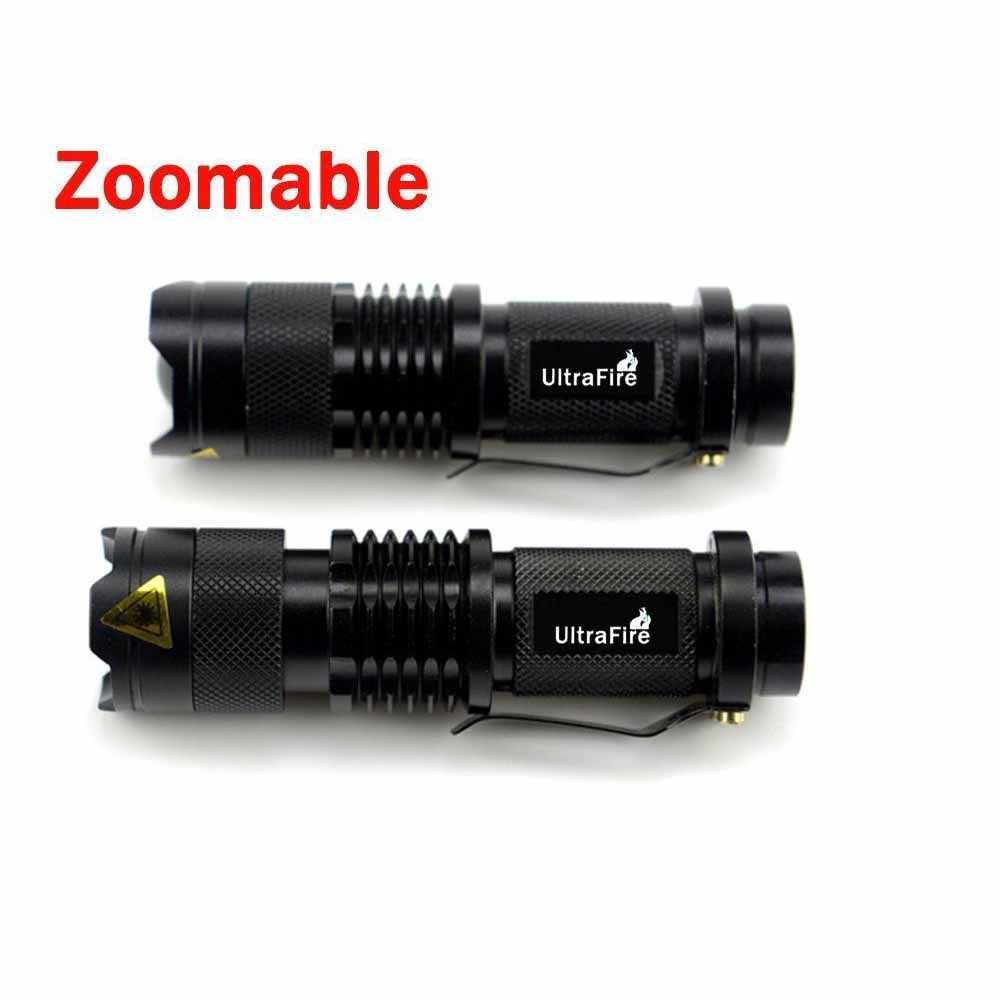 Sk98 Hunting Led 1000lm T6 Tactical Xm Torch Mode Flashlight Luz 5 Lantern Cree Ultrafire Zoom Emitter Bulb 18650 Lampa L 8nkw0NPXO