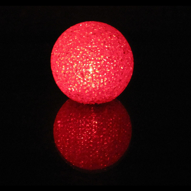 10cm 7 Colors Changing Crystal Ball Multiple Color LED Electronic Luminous Toy Ball Light Toy High Quality