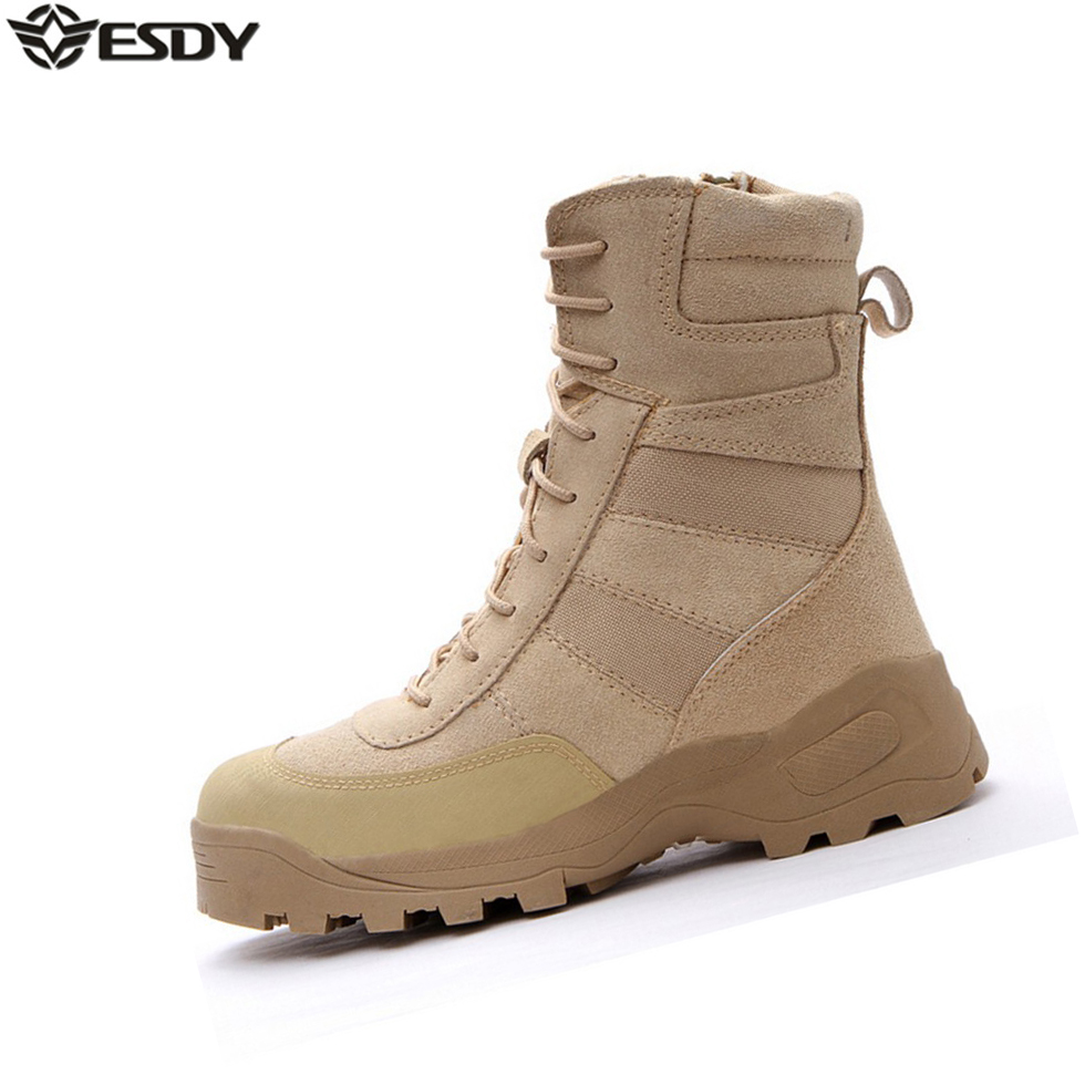 mens fashion genuine leather winter amp summer army combat