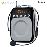 Shidu S358 Loudspeaker With Microphone Voice Amplifier Booster Megaphone Speaker For Teaching Tour Guide Sales Promotion
