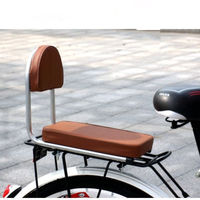 MTB Road Bike Bicycle Rear Tail Saddles Seats Soft Comfort Children Backrest