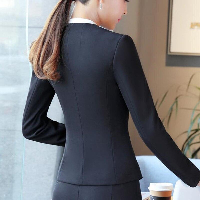 Vêtements Bureau Blazer La Mince Mode Gris Black Manteau Manches Élégant Travail Veste Femmes white Cou V De Dames Plus Noir Hiver Formelle À Longues Taille CZZxRnv5