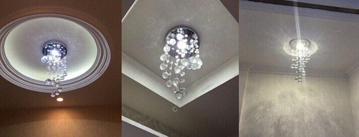 Hanging Lamp | Hanging Ceiling Lights | Modern Spiral Crystal Chandelier for  Home Entrance Stair Staircase aisle Corridor Ceiling Hanging Lamp Home decoration LED Lamp 001