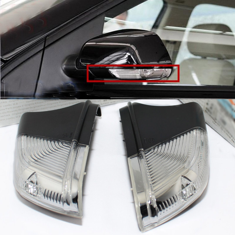 Car Rear view Mirror Turn Signal Light Led Lamps Bar Lighting For VW Volkswagen POLO 2005-2009 For Skoda Octavia 2006-2010 volkswagen new beetle 2005 2009 кабриолет