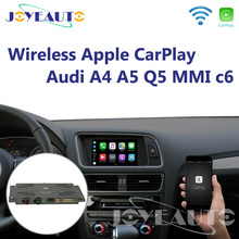 Joyeauto Aftermarket A4 A5 Q5 MMI 3g A6 A7 c6 OEM Wi-Fi Беспроводной Apple CarPlay Интерфейс модернизации для Audi с обратным Камера