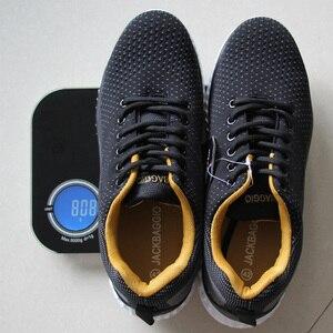 Image 3 - Hot แบรนด์ผู้ชายทำงานรองเท้า,breathable น้ำหนักเบากีฬารองเท้าลื่นรองเท้าสบายๆ. ขนาด 36 45,3 สี