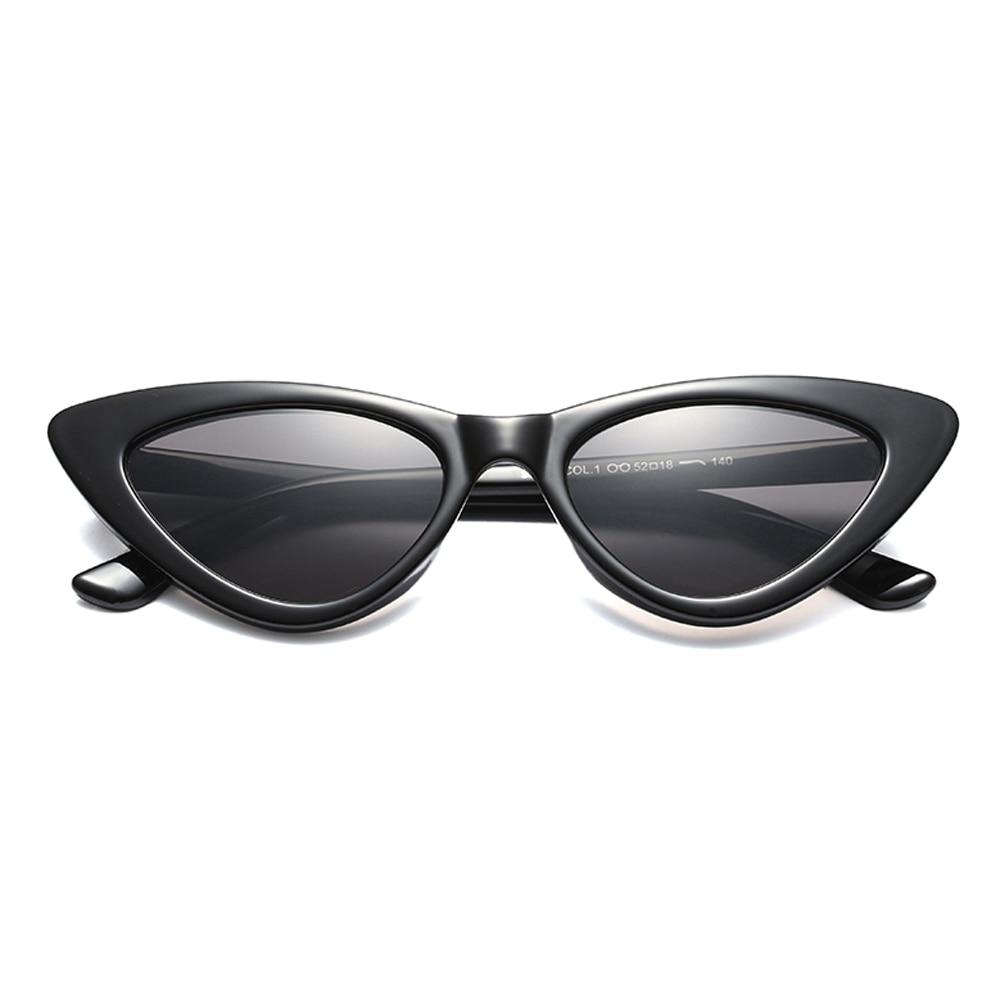 d41bce5cc9a48 Peekaboo black cat eye sunglasses women brand designer 2018 cheap white red  sun glasses for women retro uv400-in Sunglasses from Apparel Accessories on  ...