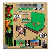 Stikbox Stik Bot Screen Animatie Speelgoed Schuur Poppen met Sucker DIY Creat Animatie Film StikBot Speelgoed Schuur Kinderen Nieuwjaar speelgoed