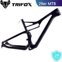 Углерода Треугольная рама подвески горного велосипеда Frame 29er Susper свет полный рама горного велосипеда 148*12 мм раме велосипеда дропшиппинг
