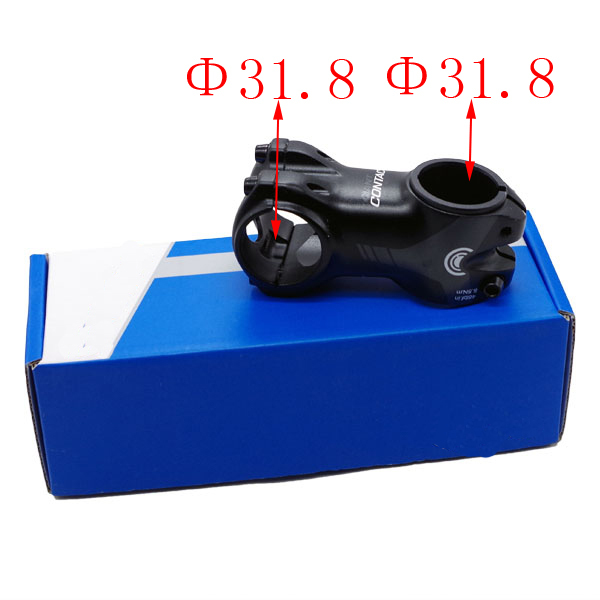 Hot Sale! 31.8mm Aluminium Alloy MTB Mountain Cycling Bike Bicycle Stem Handlebar Stem Front fork clip neck 31.75mm new safurance aluminium alloy mtb mountain road sport bicycle cycling bike short beam alarm lock 3 keys silver 140 alarm