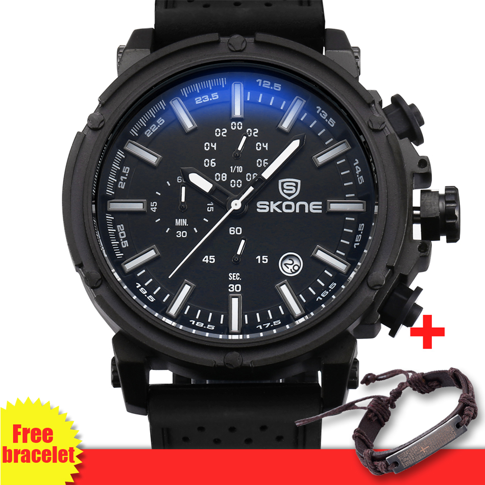 2018 Brazil Hot Sale Big Wrist Watch Men Chronograph Sport Men Watches Casual Silicone Watch relogio masculino drop shipping hot horloge new desigh hot sale colorful boys girls students time electronic digital wrist sport watch 2017may10