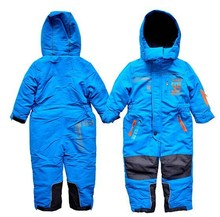 Hot Childer Snow Jumpsuits skiing suit set Child Ski Clothing Snowboard waterproof windproof winter outdoor Coverall Boy/Girl