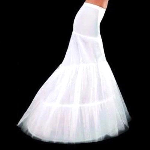 2017 New Mermaid Wedding Petticoats Bridal Slip Women Skirt Tutu