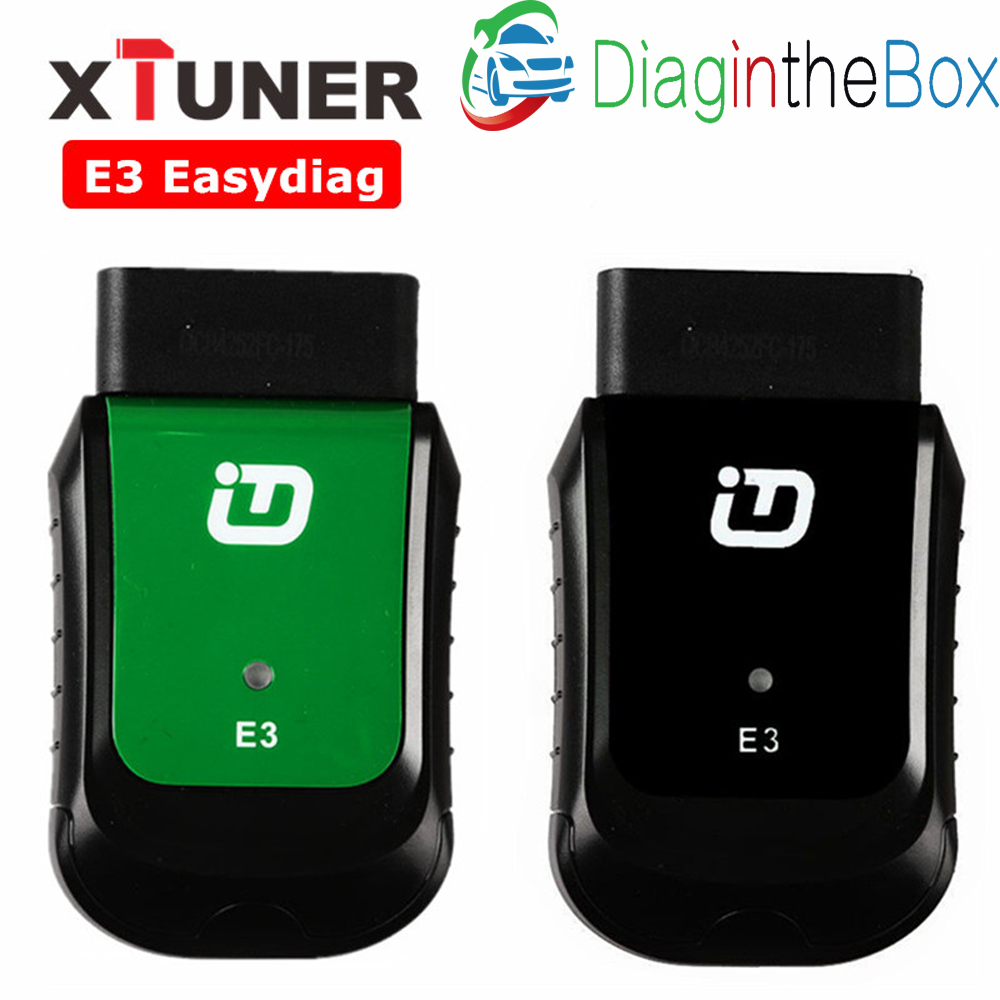 E3 Easydiag XTUNER Full OBDII Diagnostic Tool WIFI AutoMotive Scanner For Asia,
