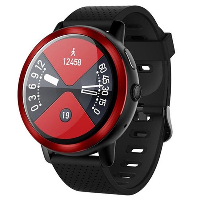 50327f488 Android 7.1 smart watch 4G network WiFi Internet sport heart rate bracelet  2G+16GB smartwatch HD camera Bluetooth GPS smartphone