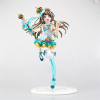 Hight Quality Anime Love Live School idol dairy Kotori Minami Snowman Ver. 1/7 PVC Figure Collectible Model Toy 23cm