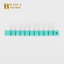 BES Volume Lash 3D 4D 5D 6D Eyelash Extension Supplies Pre Fanned Extensions Premade Fans Short Stem