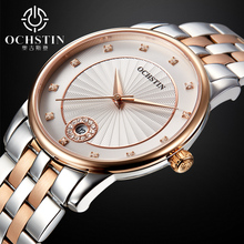 Ladies Sapphire Quartz Watch Women Rhinestone Stainless Steel Casual Dress Women s Watch Crystal reloje mujer