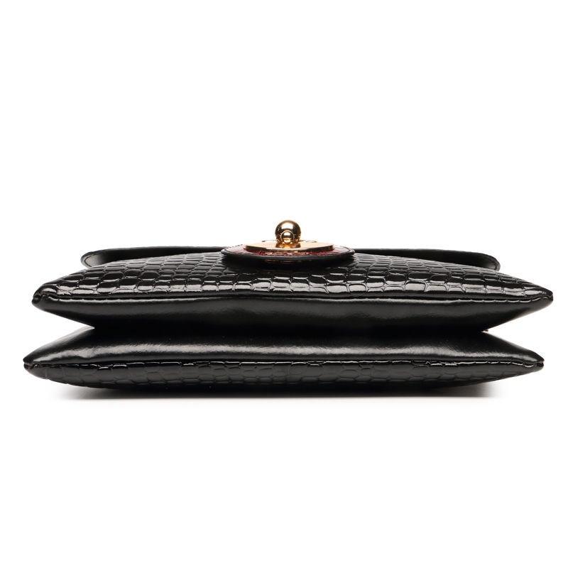 New Crocodile Pattern Women Messenger Bags Handbags Women Famous Brands Clutch Bag Bolsa Sac A Main Femme De Marque Celebre