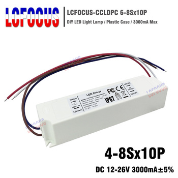 2pcs 4-8Sx10P LED Driver Output 12-26V 3000mA 40 50 70 80 100 W Watt Power Supply Lighting Transformers For DIY Lamp Floodlight