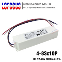 2pcs 4 8Sx10P LED Driver Output 12 26V 3000mA 40 50 70 80 100 W Watt Power Supply Lighting Transformers For DIY Lamp Floodlight