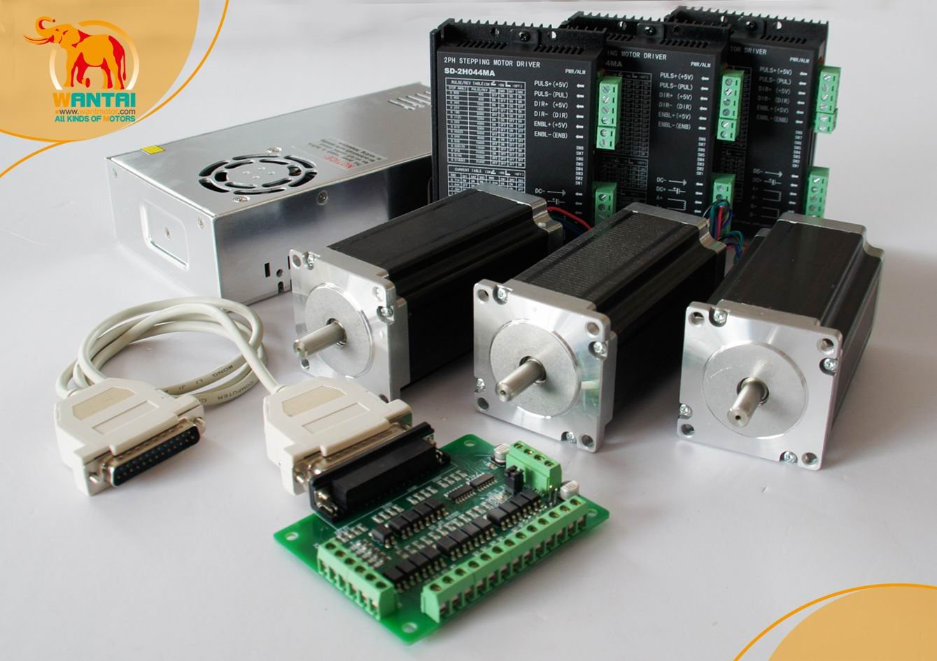 Buy nema 23 stepper for Cnc stepper motor controller