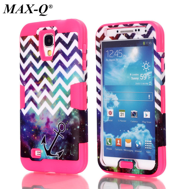 For Samsung Galaxy S4 Case Max Q Heavy Duty Armor Shockproof Hybrid Hard Rugged Rubber