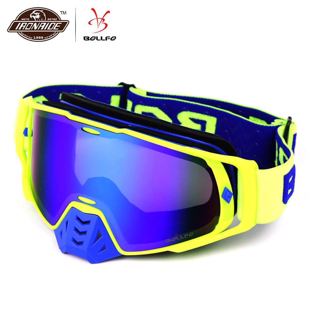 BOLLFO Motocross Goggles dirt bike Motocross Glasses Helmet gafas Motorcycle Glasses Cycling Off Road Racing Riding GogglesBOLLFO Motocross Goggles dirt bike Motocross Glasses Helmet gafas Motorcycle Glasses Cycling Off Road Racing Riding Goggles