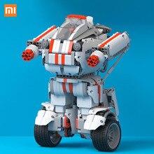 Beste Geschenk Xiaomi Robot Building Block Roboter Bluetooth Mobile Fernsteuerung 978 Ersatzteile Selbst balance System-modul Programm