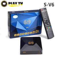 S-V6 DVB-S2 receptor de satélite Digital con 2 puerto USB soporte Xtream NOVA de TV Youtube tarjeta Wifi USB compartirán MGCAMD DVB S2