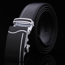 Belt 2017 Hot Fashion Cowhide Leather men belt Designer Luxury Famous High quality Automatic buckle men Belts for men